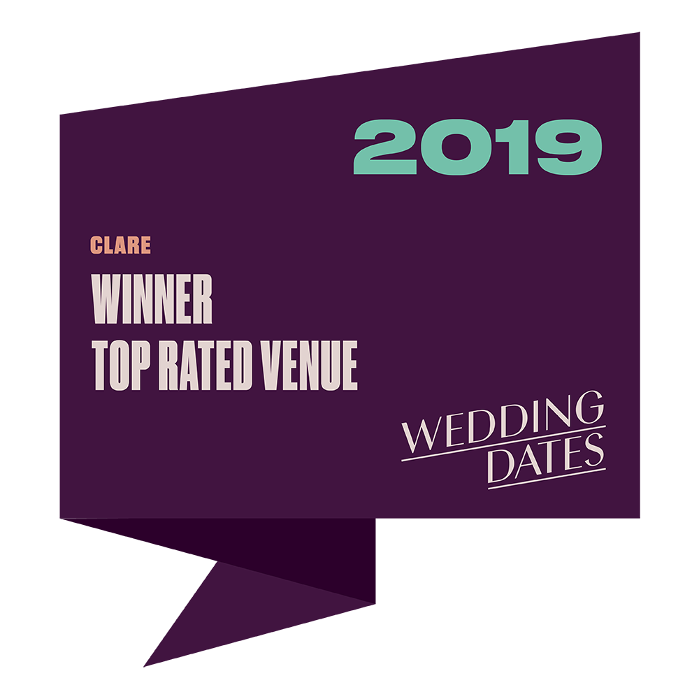 Top Rated Wedding Venues in Clare 2019