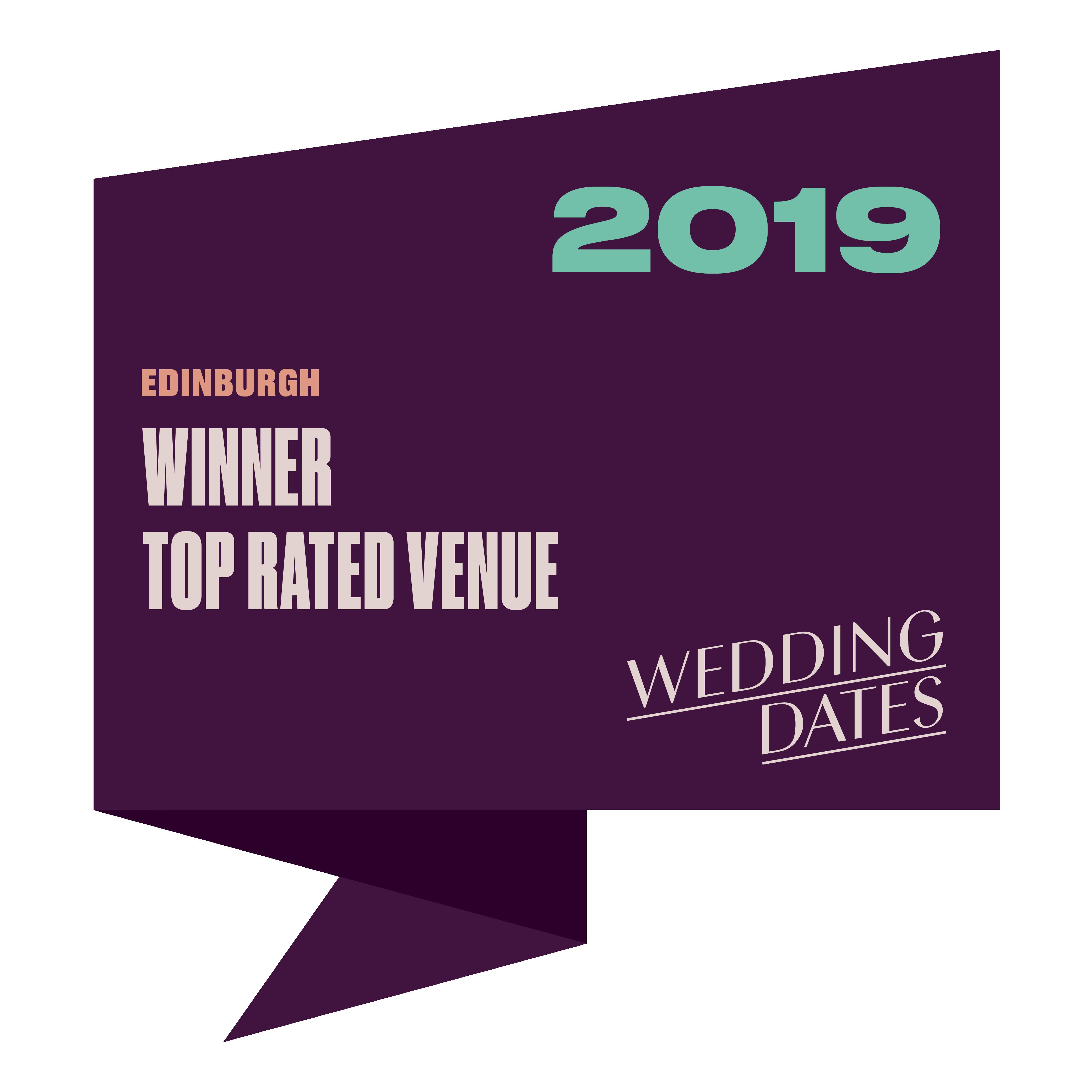 Top Rated Wedding Venues in Edinburgh 2019
