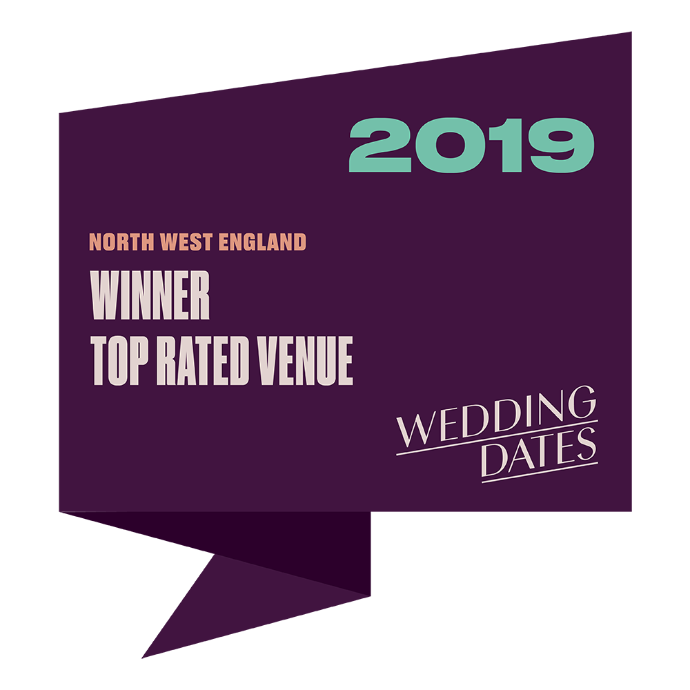 Top Rated Wedding Venues in North West England 2019 Badge