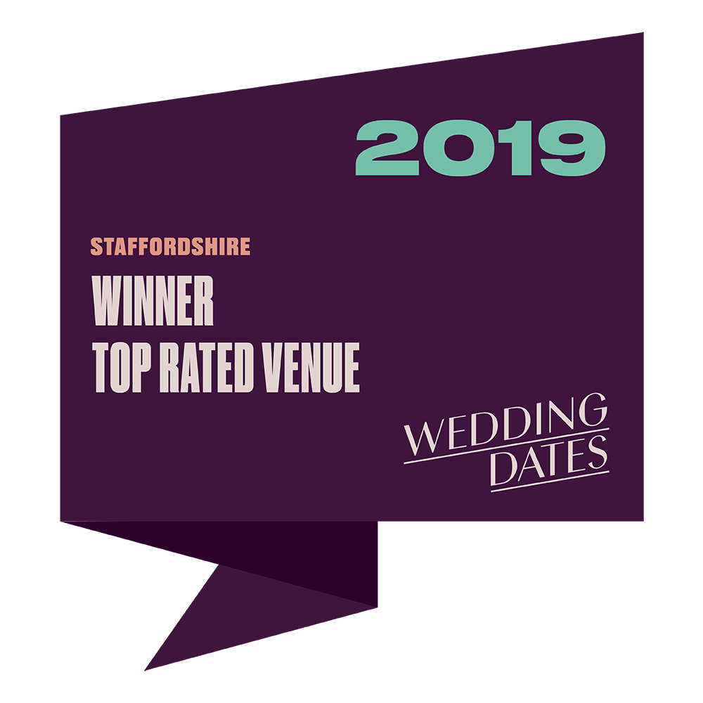 Top Rated Wedding Venues in Staffordshire 2019