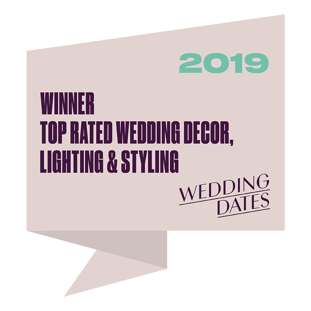 Top Rated Wedding Decor, Lighting & Styling 2019