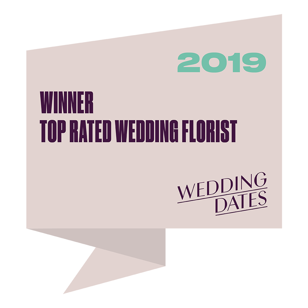 Top Rated Wedding Florist 2019