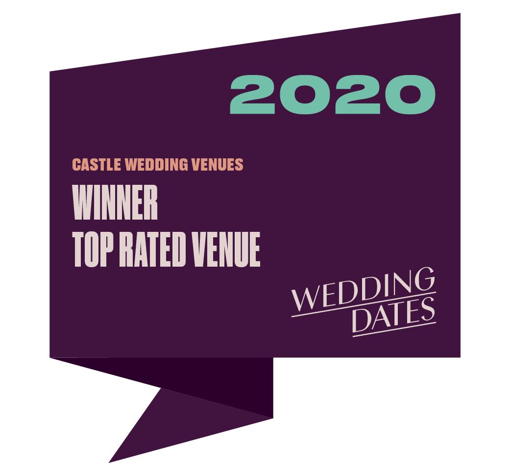 Top Rated Castle Wedding Venue 2020