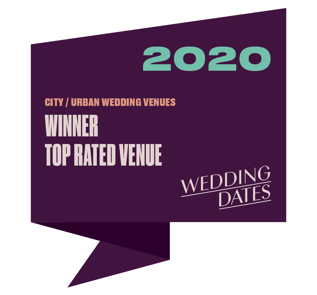 Top Rated City/Urban Wedding Venue 2020