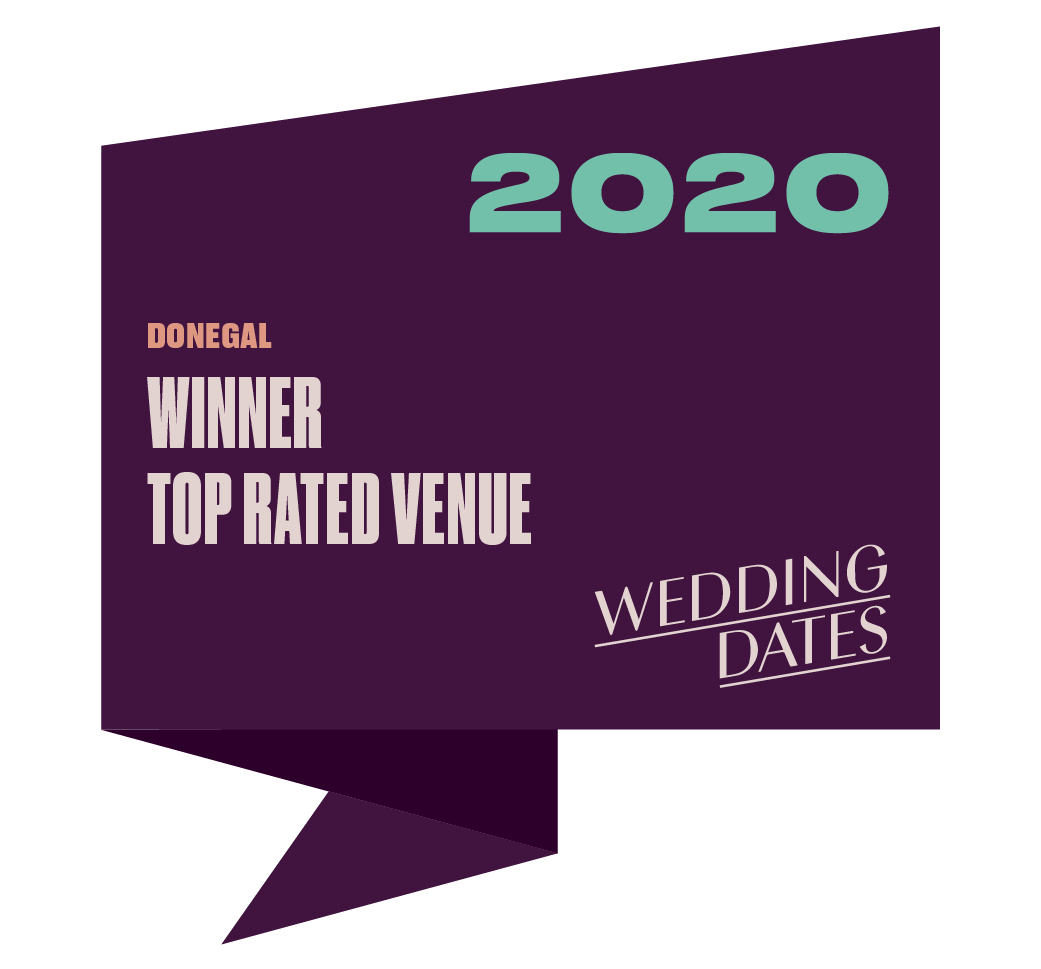 Top Rated Wedding Venue in Donegal 2020 Badge