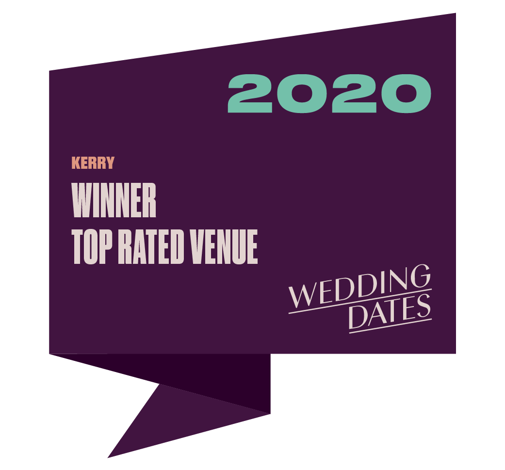 Top Rated Wedding Venue in Kerry 2020