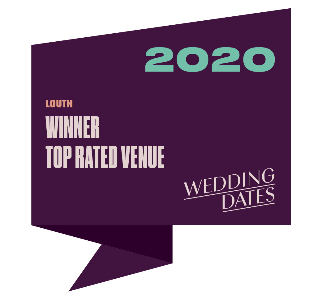 Top Rated Wedding Venue in Louth 2020