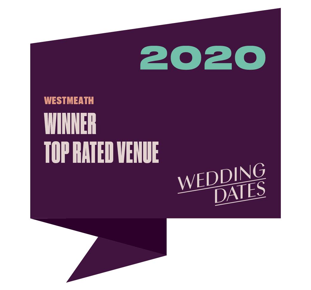 Top Rated Wedding Venue in Westmeath 2020