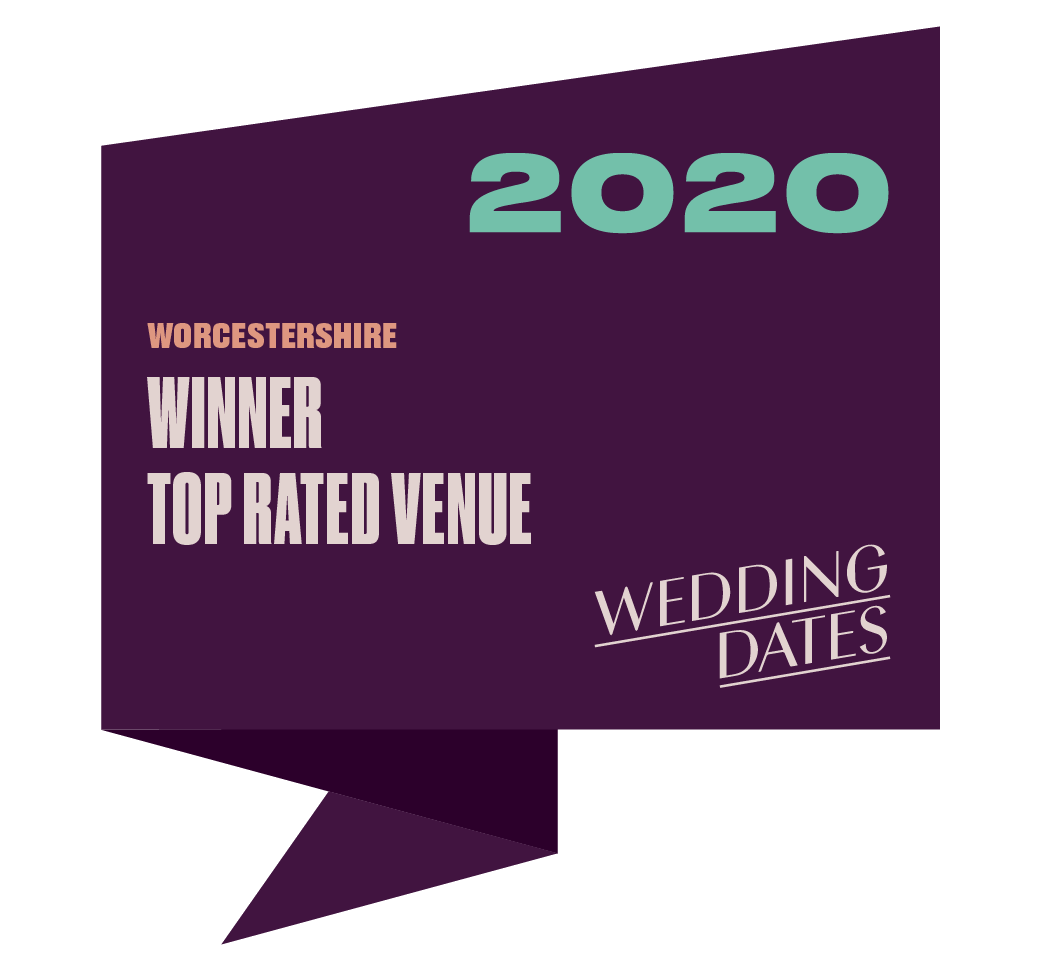 Top Rated Wedding Venue in Worcestershire 2020